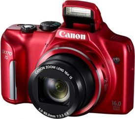 Canon PowerShot SX170 IS reset
