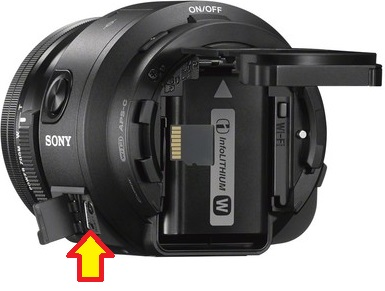 Initialize The Sony Ilce Qx1 Dsc Qx30 To Factory Preset