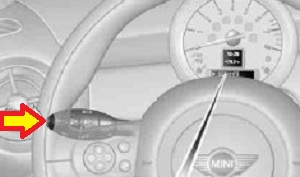 reset mini cooper dic button