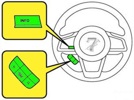 tire rotation light reset