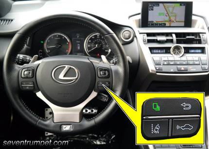 lexus tire pressure tpms light reset