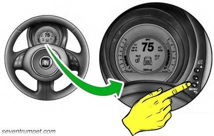 tpms tyre pressure light reset